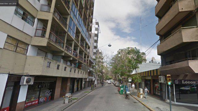 Conmoción en pleno centro por una fuerte explosión en el ingreso a un edificio