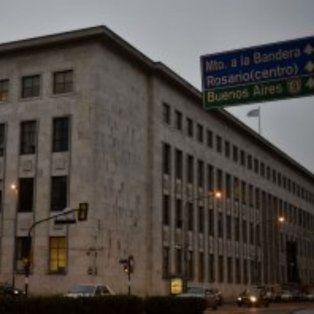 Los Tribunales provinciales de Rosario.