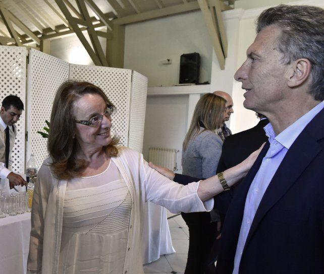 Macri recibirá a Alicia Kirchner en Casa Rosada tras el anuncio del gobierno nacional.