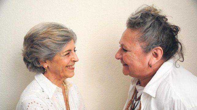 Rita Cortese y Cristina Banegas en el Ciclo de Par en Par en la Lavardén