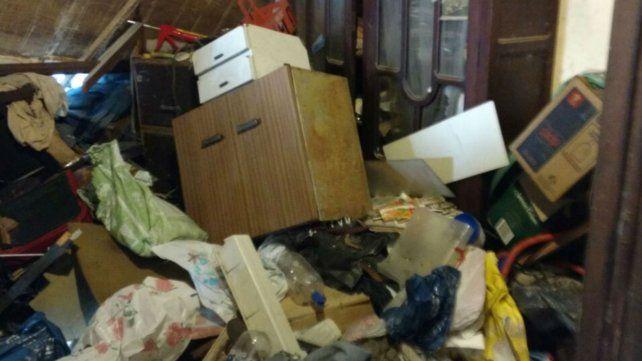 El municipio intervino la vivienda con una orden judicial.