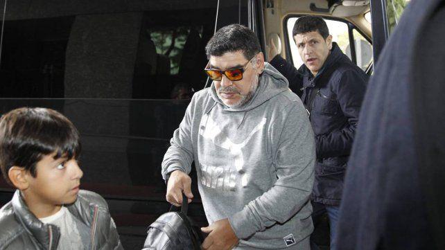 Los polémicos audios de Maradona para la bailarina del Carnaval de Gualeguaychú.