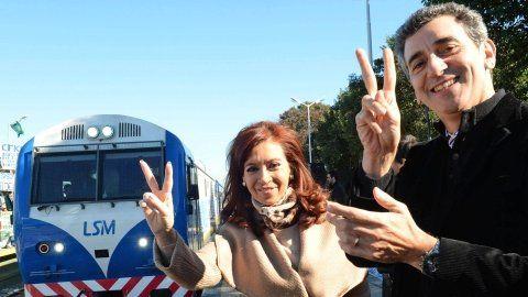 ¿en el mismo tren? Cristina y Randazzo