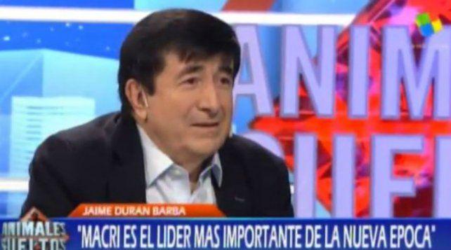 Durán Barba afirmó que  Macri es el mejor líder de su época, el mejor de los presidentes de Occidente