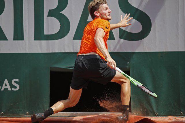Por esta terrible lesión de Goffin, Zeballos pasó de ronda en Roland Garros