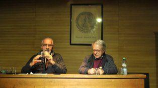 Atilio Borón y Frei Betto disertaron en la UNR.