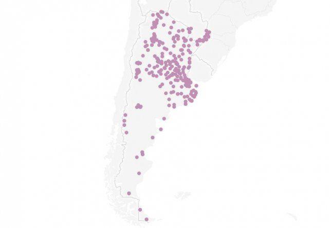 Un mapa interactivo muestra el aumento de femicidios en Rosario y todo el país