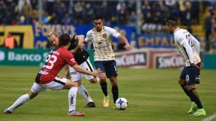 Central lo intentó todo para llegar al gol pero no pudo con la muralla Broun y fue empate