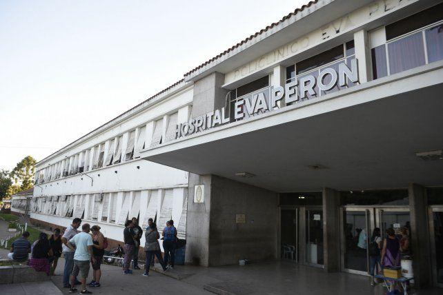 Hospital Eva Perón. La víctima estaba en el efector de Baigorria.