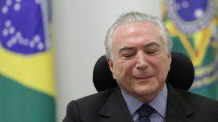 Contra las cuerdas. El presidente de Brasil debe someterse esta semana a un tribunal que podría destituirlo.