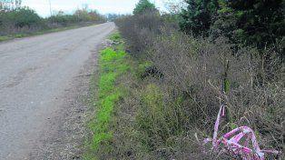 zona rural. Los restos fueron hallados el sábado cerca de Cabín 9.