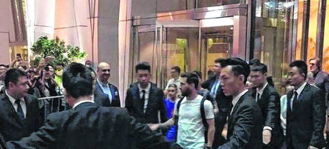 Tras su estadía en China, Messi se suma a la selección en Melbourne