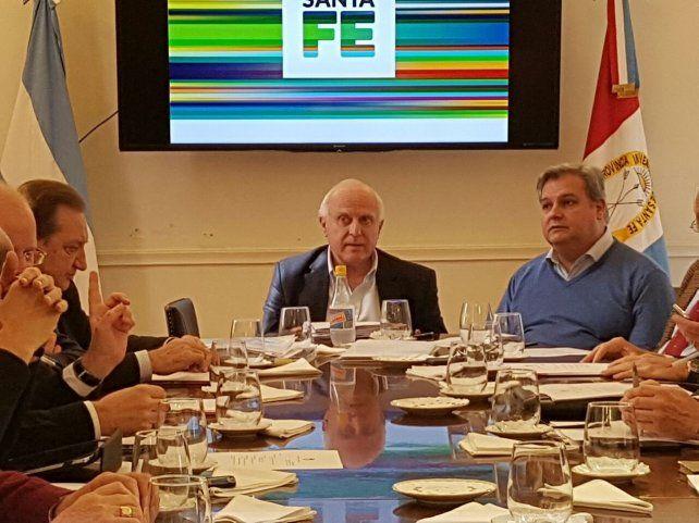 El gobernador Lifschitz retomó hoy sus funciones al frente del Ejecutivo provincial.