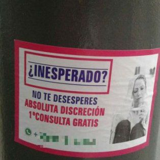 fiscalia actuara de oficio por la promocion de abortos con carteles callejeros