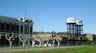 Los trabajadores de los talleres ferroviarios de Pérez, en zona de riesgo