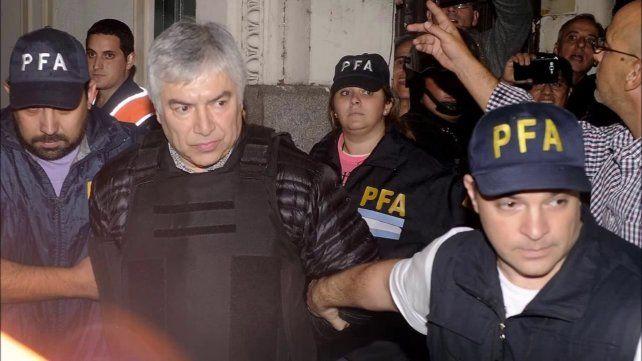 Lázaro Báez está en Tribunales para prestar declaración ante el juez Casanello