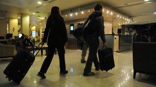 Referentes del sector hotelero dicen que la crisis afecta al sector.