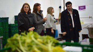 Hoy en el Mercado de Productores de Rosario lanzaron el plan para evitar que se tiren alimentos