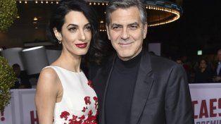 George Clooney fue padre de mellizos