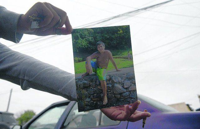 quebrado. Jorge Fernández está destruido pero promete no parar hasta que se haga justicia por Fabricio.
