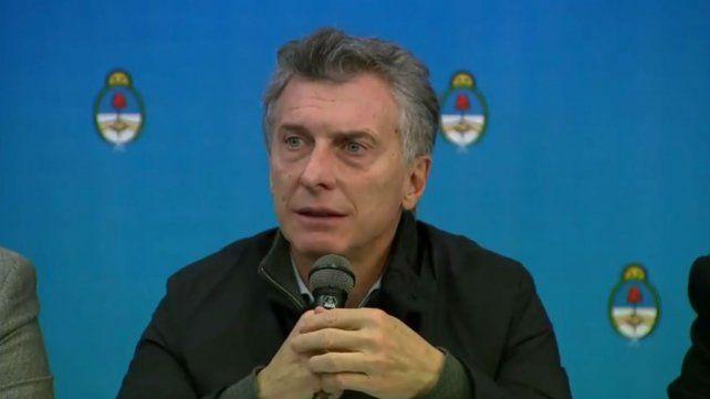 Macri dijo que no le preocupa que Cristina se postule en las elecciones y la acusó de hipotecar el país