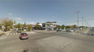 El cruce de Francia y Seguí donde el propietario encontró su vehículo
