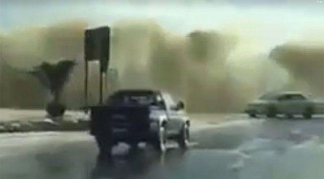 Ciudad del Cabo soportó el peor temporal de los últimos 30 años