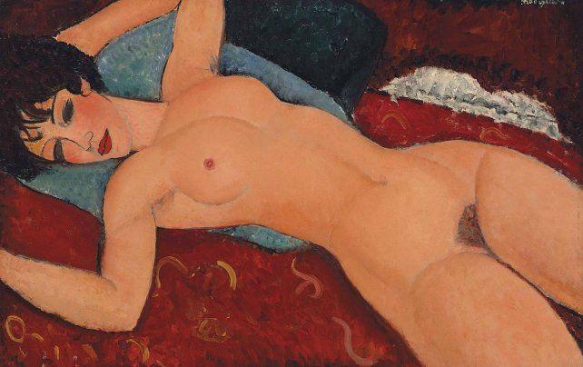 Facebook eliminó un video con un desnudo de Modigliani publicado por un museo suizo