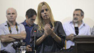 La presidenta del Concejo selló una alianza con el máximo referente del Frente Renovador en Rosario.