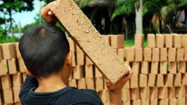 El trabajo infantil en las ladrilleras