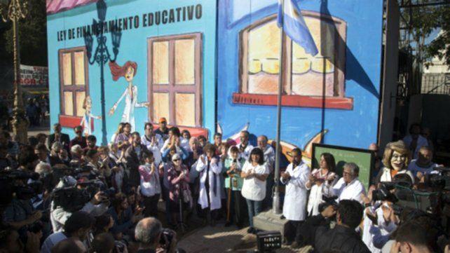 La Escuela Pública Itinerante llega el jueves a Rosario