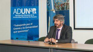 Conferencista. Chamorro trabajó con Rafael Correa