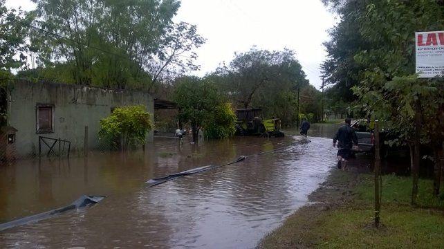 Corrientes. La ciudad de Santa Ana es una de las más afectadas.