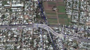 Provincia y municipio inician la remodelación integral de la curva de bulevar Seguí