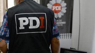 Personal de la Policía de Investigaciones trabajó en los allanamientos.