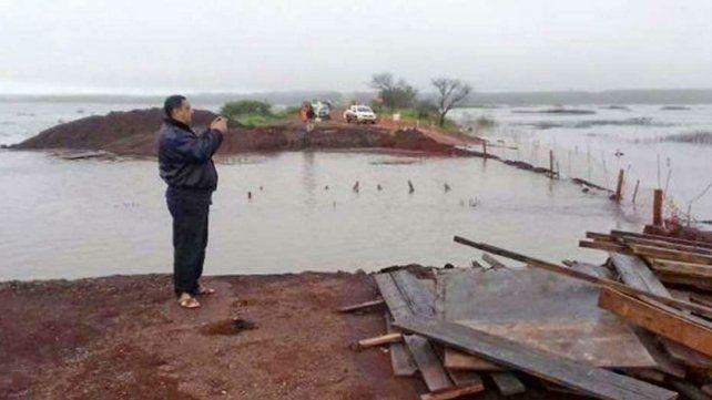 Son más de 800 los evacuados en Entre Ríos