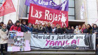 El caso de Yamila fue motivo de varias marchas en los Tribunales provinciales.