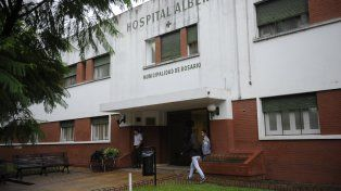 El hospital Alberdi. Una de las víctimas fue atendida en ese lugar.