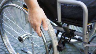 Concentración en el Monumento contra la quita de las pensiones por discapacidad