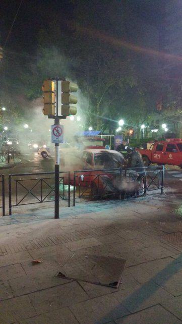 Paraguay y Córdoba. La explosión y posterior incendio causaron alarma en la zona.