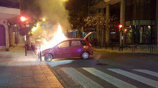 Conmoción en Córdoba y Paraguay. El incendio fue espectacular
