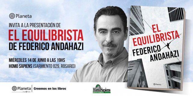 Cristina va a estrellar el Jumbo, dijo Federico Andahazi en Facebook Live de La Capital