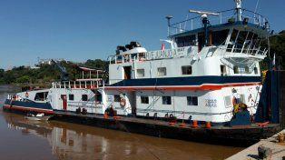 Más de 15 mil kilos de marihuana fueron secuestrados de una barcaza en el río Paraná.