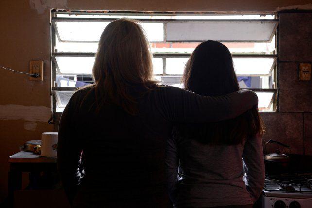 Con miedo. Ana y su tía Graciela