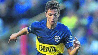 Disponible. Tras el Mundial Sub 20 se sumó ayer a Boca Rodrigo Bentancur.