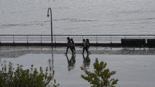 Rosario enfrenta el jueves con pronóstico de lluvias.