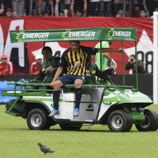 Marco Ruben se resintió de la lesión en el pie izquierdo en el último clásico y nunca logró recuperarse adecuadamente.
