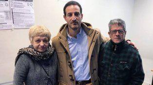 Silvia Settetrombe junto a su abogado Roberto Sukerman.