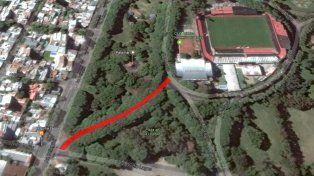 Una de las calles interiores del parque llevará el nombre de Claudio Newell.