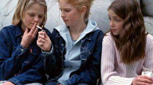 adolecen. Uno de cada cinco argentinos de 13 a 15 años fuma.